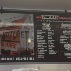 Photo taken at Portillo's Hot Dogs by Ben O. on 5/16/2012