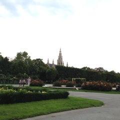 Photo taken at Volksgarten by Iris I. on 7/29/2012
