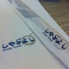 Photo taken at Shabu Yoshi (ชาบู โยชิ) by Red_angel on 7/30/2012