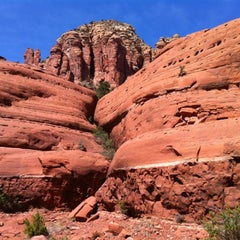 Photo taken at Sedona Red Rocks by Joel on 4/9/2012