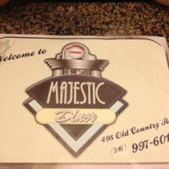 Photo taken at Majestic Diner by Brian on 6/3/2012