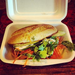 Photo taken at Num Pang Sandwich Shop by Ron V. on 6/8/2012