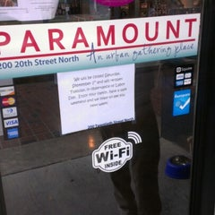 Photo taken at Paramount (An Urban Gathering Place!) by D'Maje S. on 8/30/2012