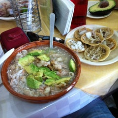 Photo taken at Pozole Casa Licha by David L. on 3/18/2012