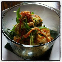 Photo taken at Longrain Restaurant & Bar by Deborah D. on 2/7/2012