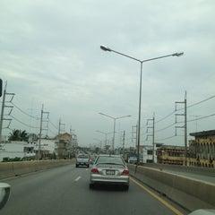 Photo taken at สะพานข้ามทางรถไฟ บ้านโป่ง by Nichapha C. on 6/2/2012