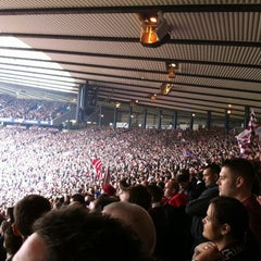 Photo taken at Hampden Park by Shaun M. on 5/19/2012