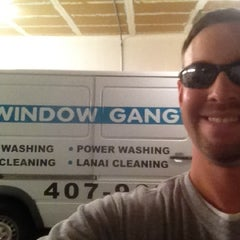 Photo taken at Window Gang Orlando by Dustin P. on 5/21/2012