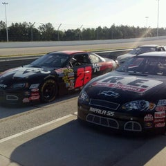 Photo taken at WDW Speedway - Richard Petty / Exotic Driving Experience by Joey R. on 4/24/2012