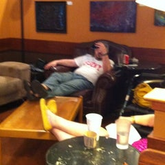 Photo taken at Michelangelo's Coffee House by Caroline R. on 6/9/2012