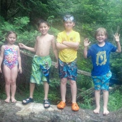 Photo taken at Au Sable River by Christine M. on 6/16/2012
