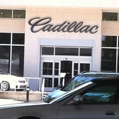 Photo taken at Ed Morse Cadillac by Lisa P. on 5/10/2012