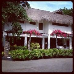 Photo taken at Bluewater Maribago Beach Resort by Pola M. on 4/29/2012
