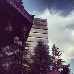 Photo taken at Plaza de Armas by Alonso P. on 9/12/2012