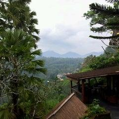 Photo taken at Kupu Kupu Barong Resort And Tree Spa by Max P. on 5/14/2012