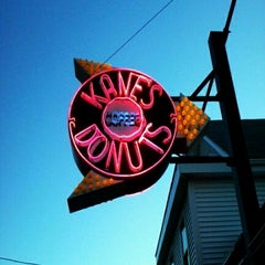 Photo taken at Kane's Donuts by Steve Q. on 3/30/2012