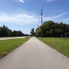 Photo taken at Pinellas County Trail by Eeryn F. on 8/20/2012