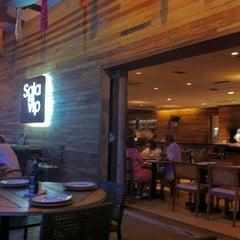 Photo taken at Sala Vip Pizza Bar by GIBA S. on 2/22/2012
