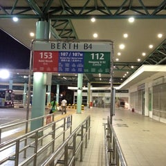 Photo taken at Hougang Central Bus Interchange by jessck m. on 4/29/2012