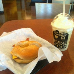 Photo taken at Einstein Bros Bagels by Randy B. on 5/31/2012