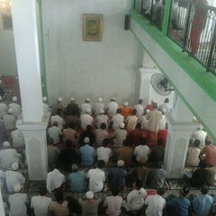 Photo taken at Masjid Jami Al-Ghoni by Dandun W. on 3/23/2012