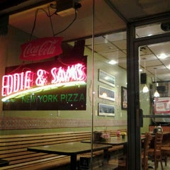 Photo taken at Eddie and Sam's Pizza by Jonphilip R. on 3/31/2012