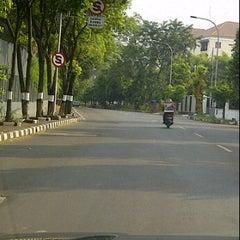 Photo taken at Jl. Denpasar by Rapunzel on 6/2/2012