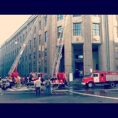 Photo taken at СПГУТД (Санкт-Петербургский государственный университет технологии и дизайна) by Odinden on 8/30/2012