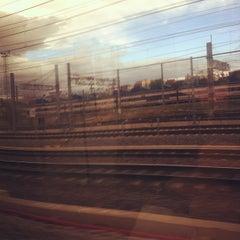 Photo taken at Cercanías 12 de Octubre by Endika P. on 4/14/2012