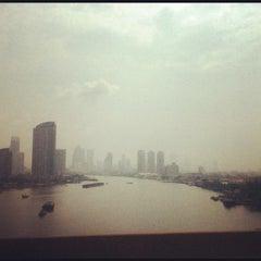 Photo taken at สะพานพระราม 3 (Rama III Bridge) by iBoZR B. on 5/17/2012