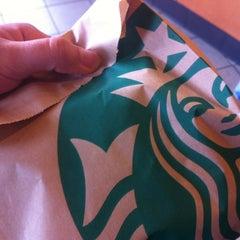 Photo taken at Starbucks by sooz b. on 4/30/2012