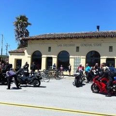 Photo taken at San Gregorio General Store by James P. on 5/20/2012