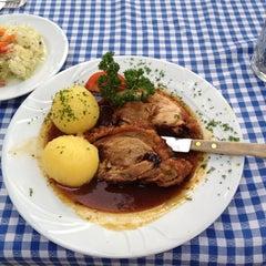 Photo taken at Gasthof zur Post Haar by Stevan M. on 6/21/2012