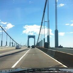Photo taken at Throgs Neck Bridge by melvin d. on 6/16/2012