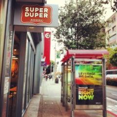 Photo taken at Super Duper Burger by Sergii S. on 8/26/2012
