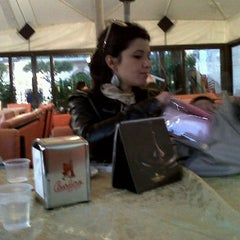 Photo taken at Eiscafè by Federica F. on 3/17/2012