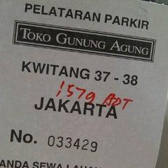 Photo taken at Toko Gunung Agung by Bonn S. on 6/22/2012