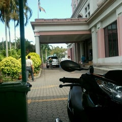 Photo taken at Lembaga Hasil Dalam Negeri Malaysia by Genji T. on 4/26/2012