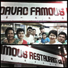 Photo taken at Davao Famous Restaurant by Marlon H. on 6/24/2012