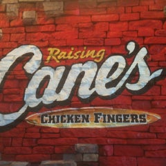 Photo taken at Raising Cane's Chicken Fingers by kilo on 2/25/2012