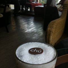 Photo taken at Chu Chocolate Bar & Café by Merci P. on 3/19/2012