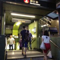 Photo taken at MTR Wan Chai Station 灣仔站 by Xanga K. on 6/25/2012