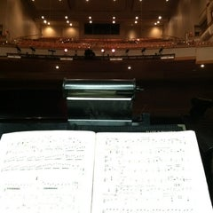 Photo taken at Curtis M. Phillips Center for the Performing Arts by Erica S. on 2/15/2012