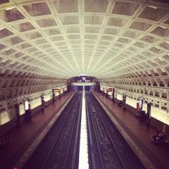 Photo taken at McPherson Square Metro Station by John J. on 6/22/2012
