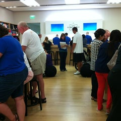 Photo taken at Apple Store, West County by Carrie N. on 8/24/2012