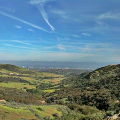 Photo taken at Bommer Canyon Trailhead by alex g. on 4/19/2012