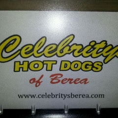 Photo taken at Celebrity's Hot Dogs by Wesley S. on 2/11/2012