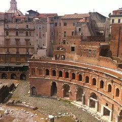 Photo taken at Mercati di Traiano by Yana Y. on 7/28/2012