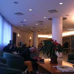 Photo taken at BLQ Marconi Business Lounge by Erin D. on 5/16/2012