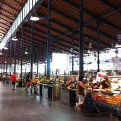 Photo taken at Mercado Central de Almería by Isabel H. on 7/21/2012